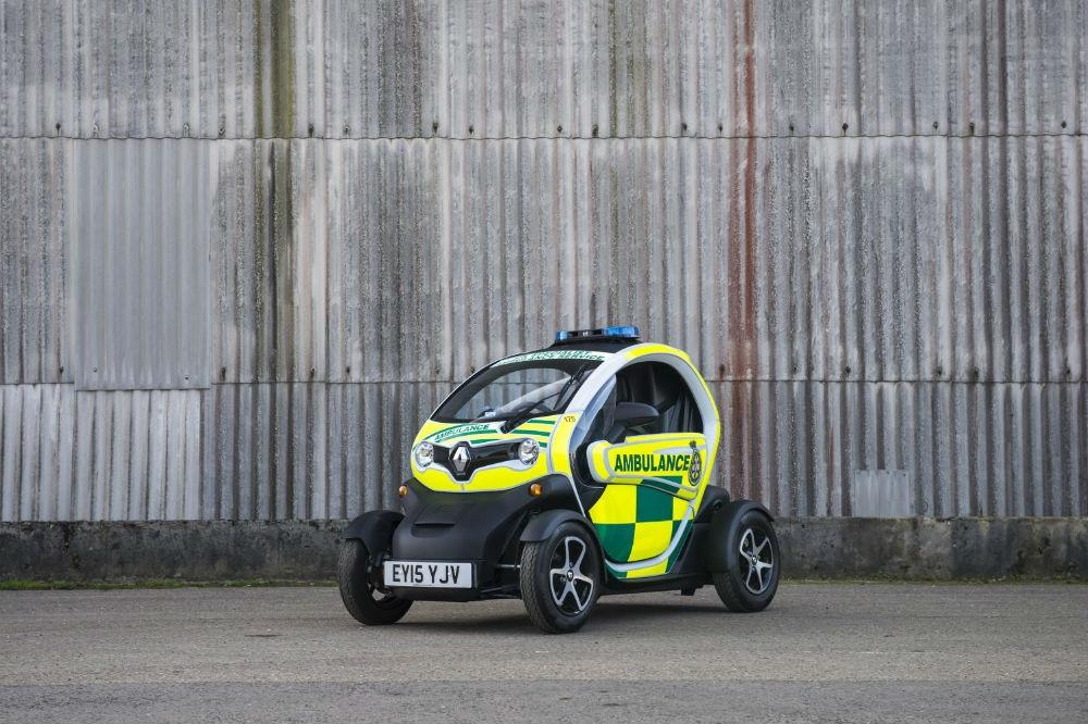Check out Renault's new Twizy ambulance!