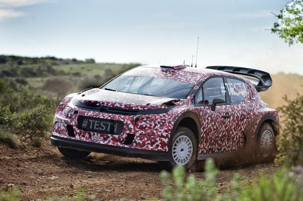 Citroen Racing Completed 2017 Rally Car Testing