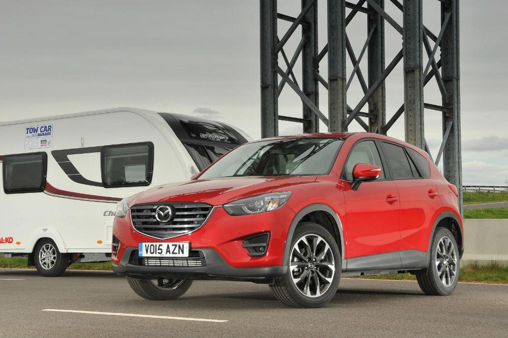 Mazda CX-5 crossover drives off with a Tow Car Award
