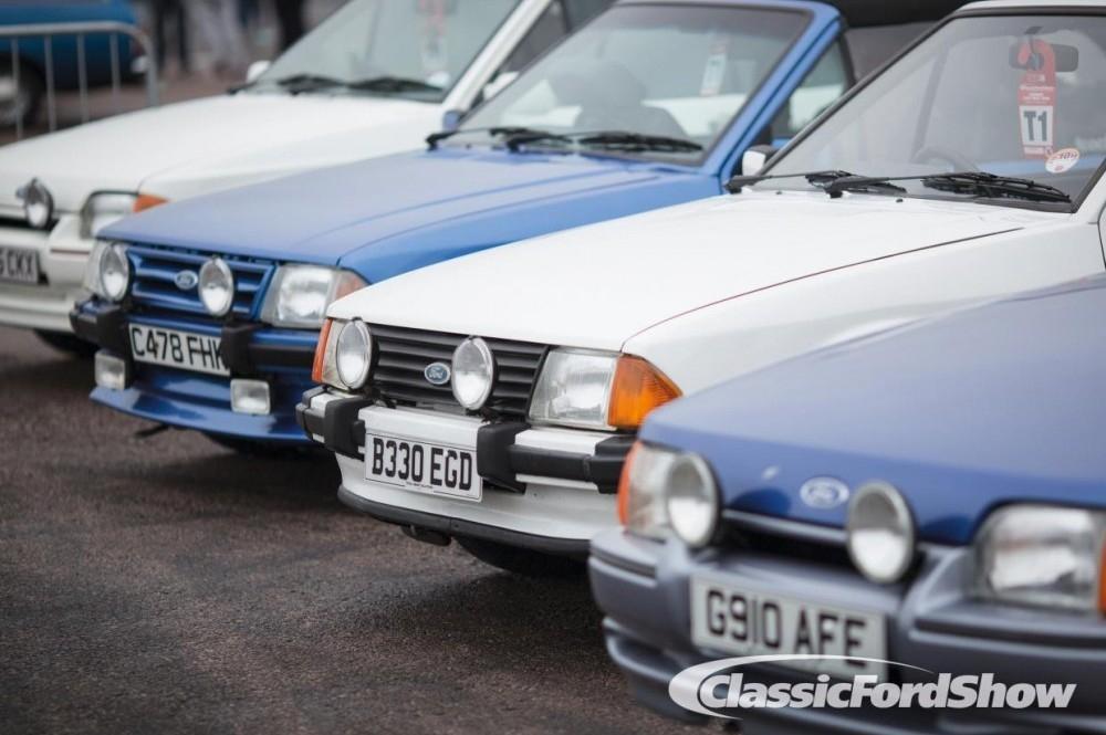 Classic Ford Show Returns to Santa Pod
