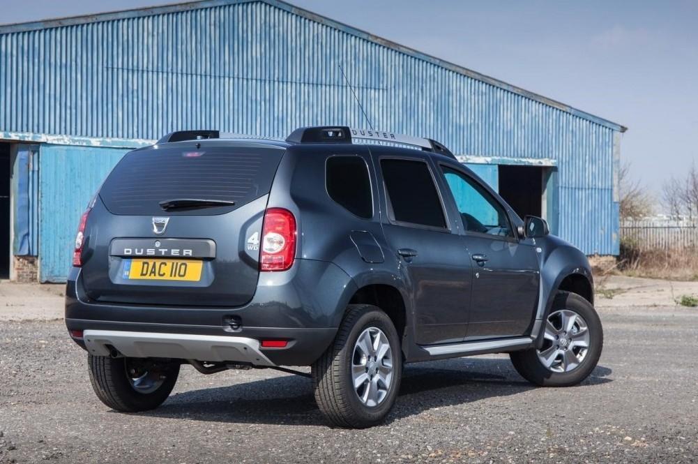 Dacia Duster Commercial 4X4 Wins Best 4X4 Van