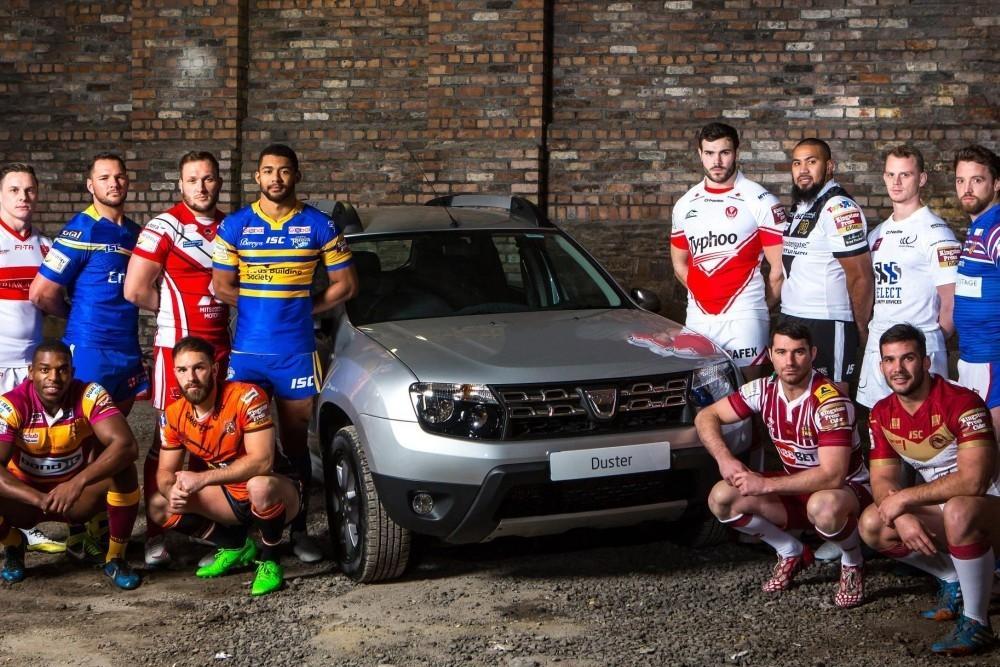 Dacia Sponsors Super League's Magic Weekend