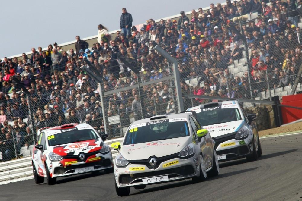 Donington Park Next Stop for Renault