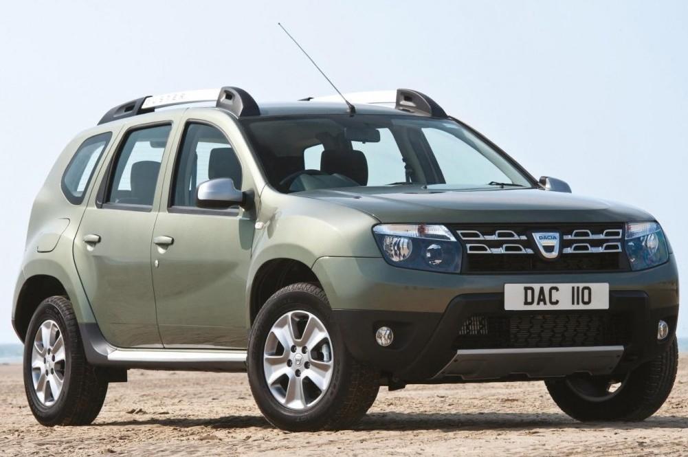 Dacia Duster Wins Green Apple Award