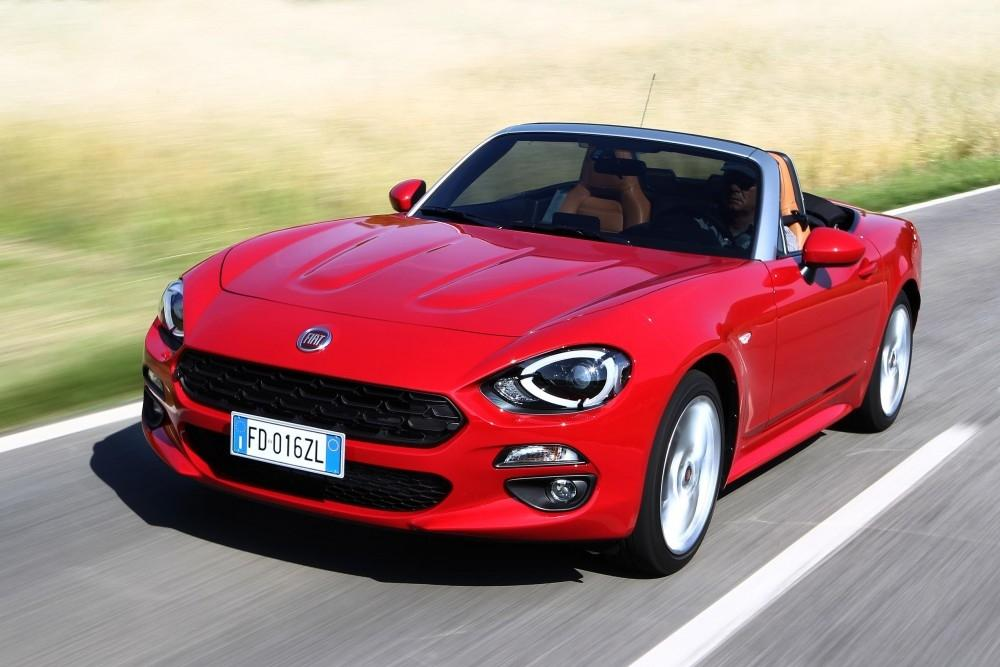 New FIAT 124 Spider Launched to UK Media