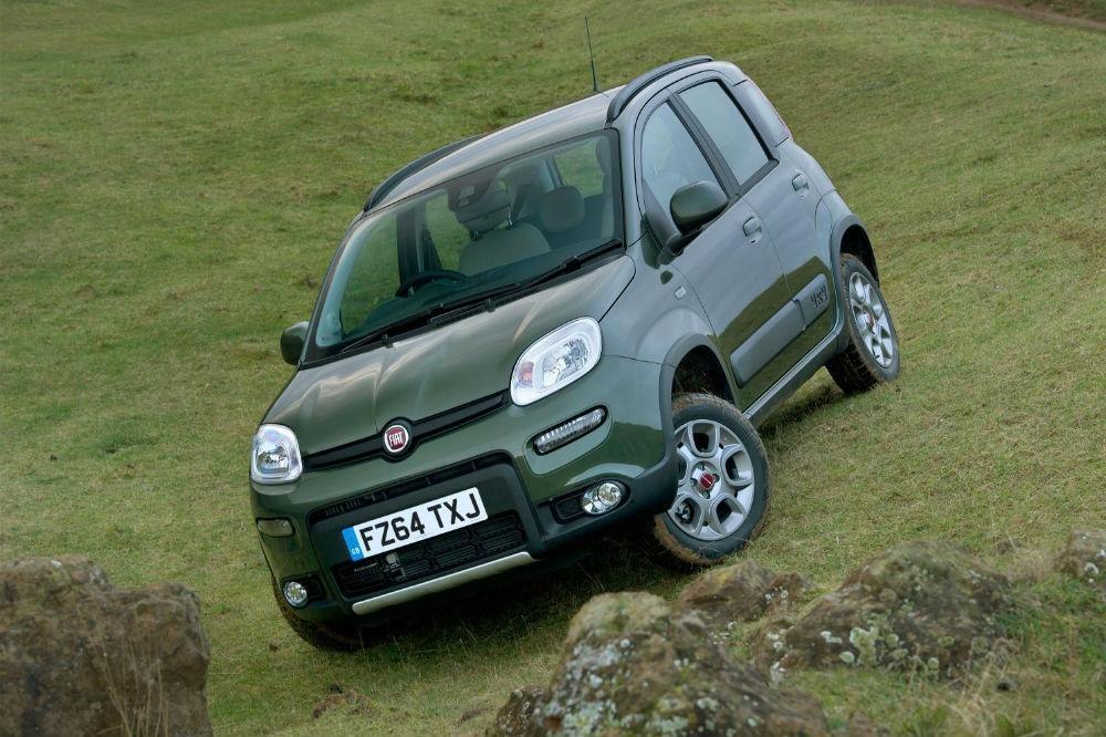 Fiat Panda 4×4 wins Towcar award