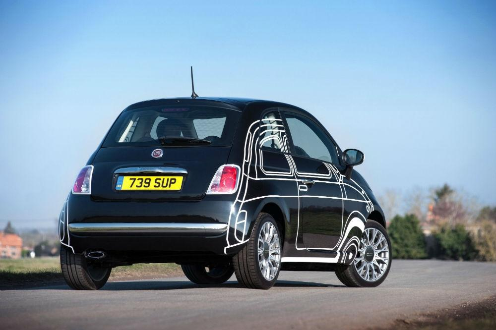 Fiat 500 Ron Arad Edition on Sale Now