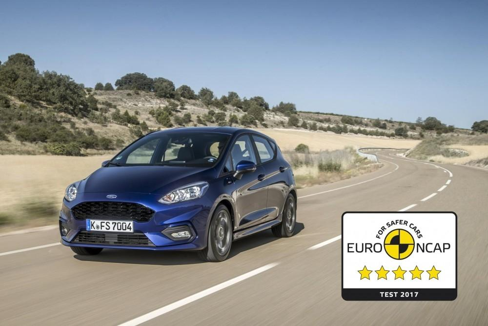Five-Star Safety Rating For New Fiesta
