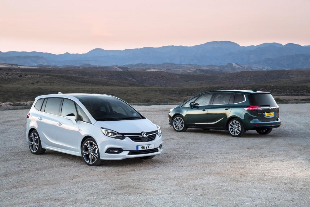 Pricing Announced For Vauxhall's New Zafira Tourer