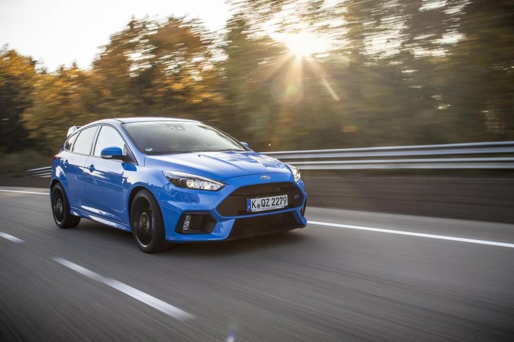 Focus RS Makes TV Debut on Eurosport