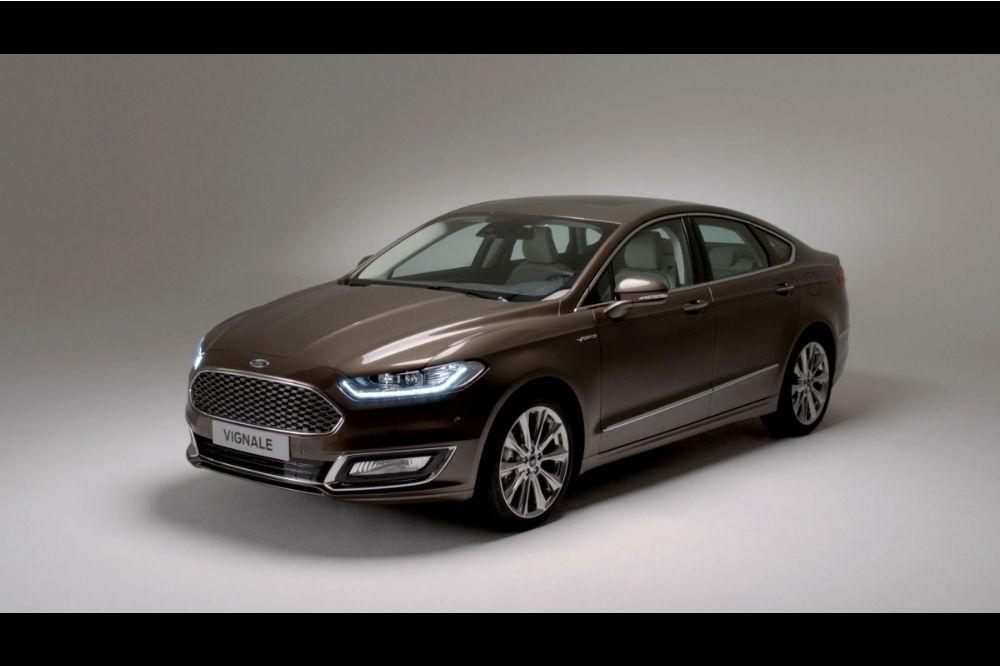Ford Unveils new Vignale Mondeo