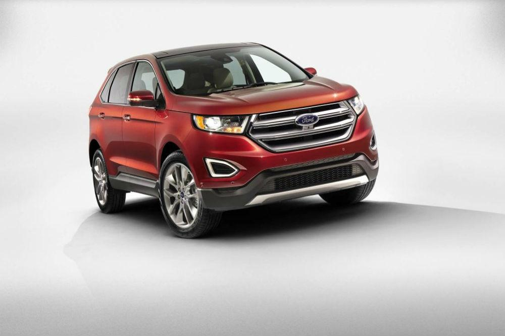 Ford Launch the New Edge in 2016