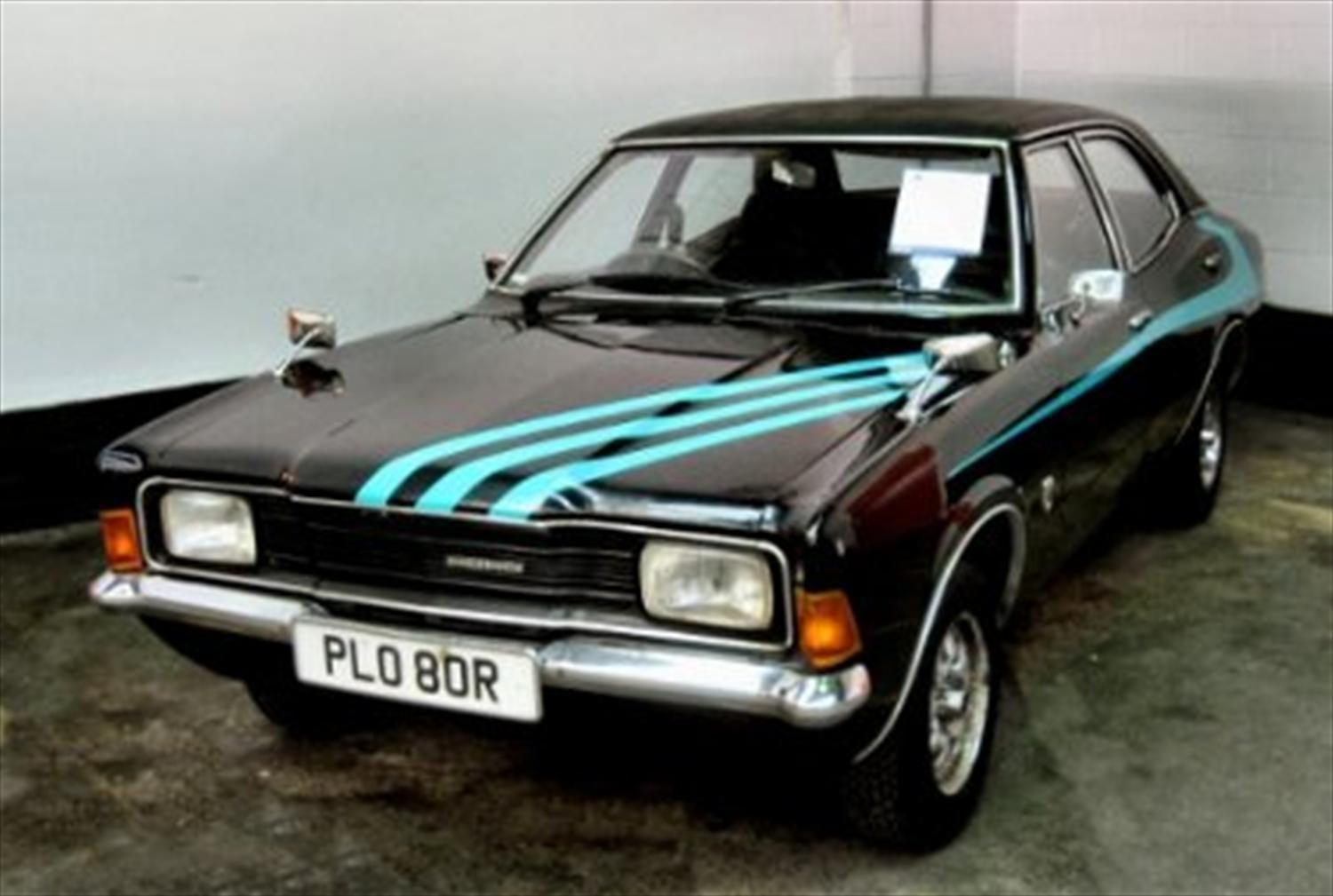 Last Ever New Ford Cortina on Sale 30 Years on