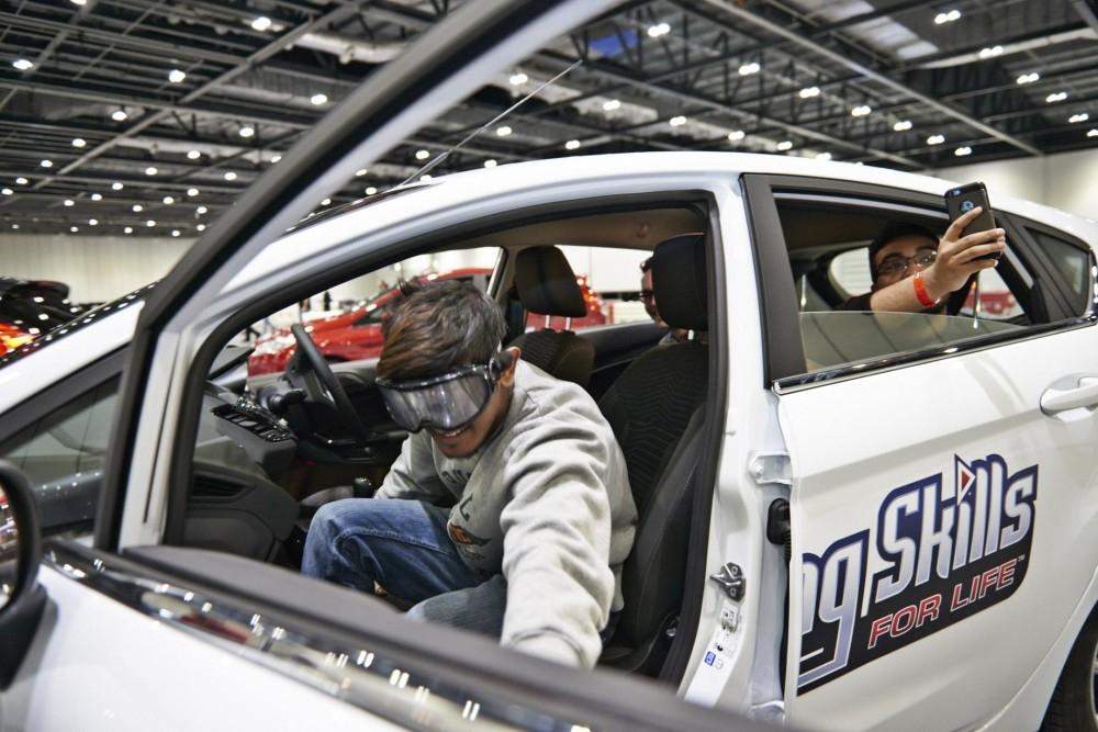 Ford trains young people to drive safely