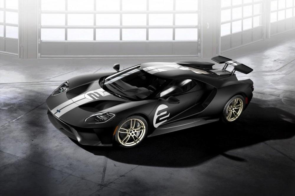 2017 Ford GT '66 Heritage Edition Available