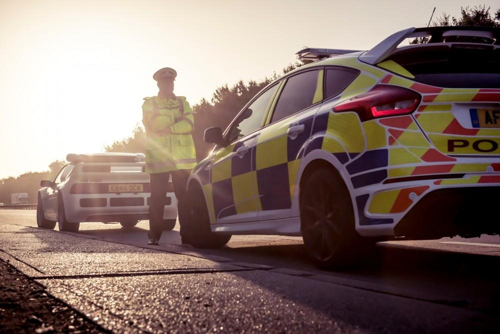 Police Cop A Feel For The Ford Focus RS
