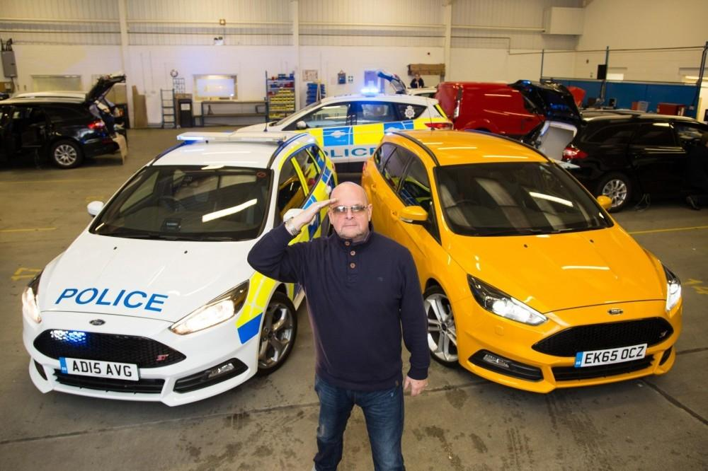 British Cops Love a Ford