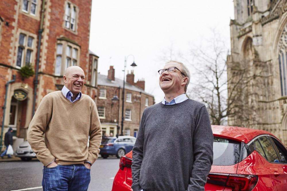Comedian Harry Enfield Stars in Vauxhall Series