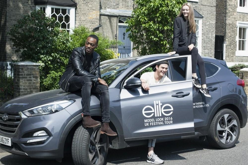 Hyundai Helps Elite London Scout for Models
