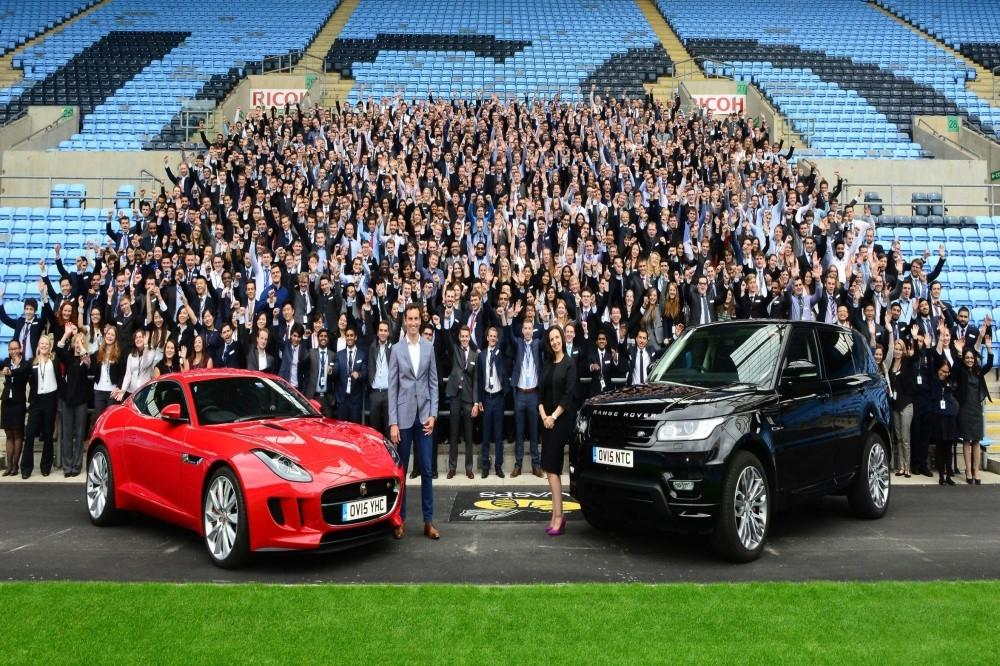 Jaguar Land Rover Welcome 600 Graduates into the Company