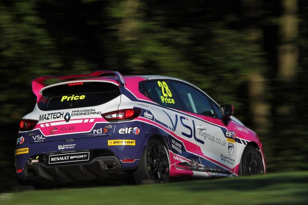 Ace Aims for Renault UK Clio Cup Top Title