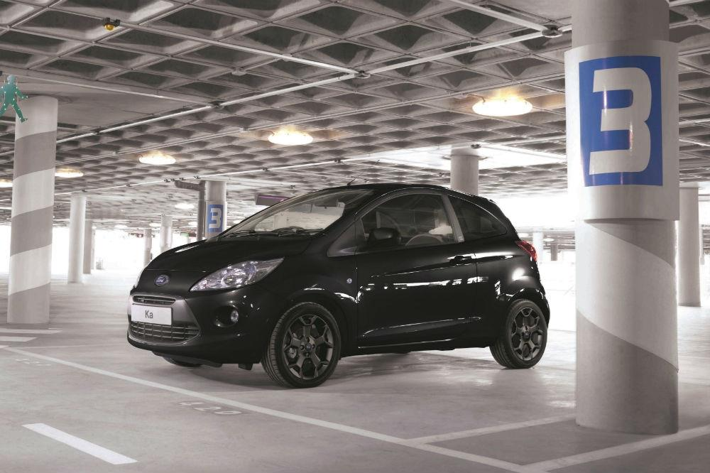 Ford reveals new Ka Black and White Editions