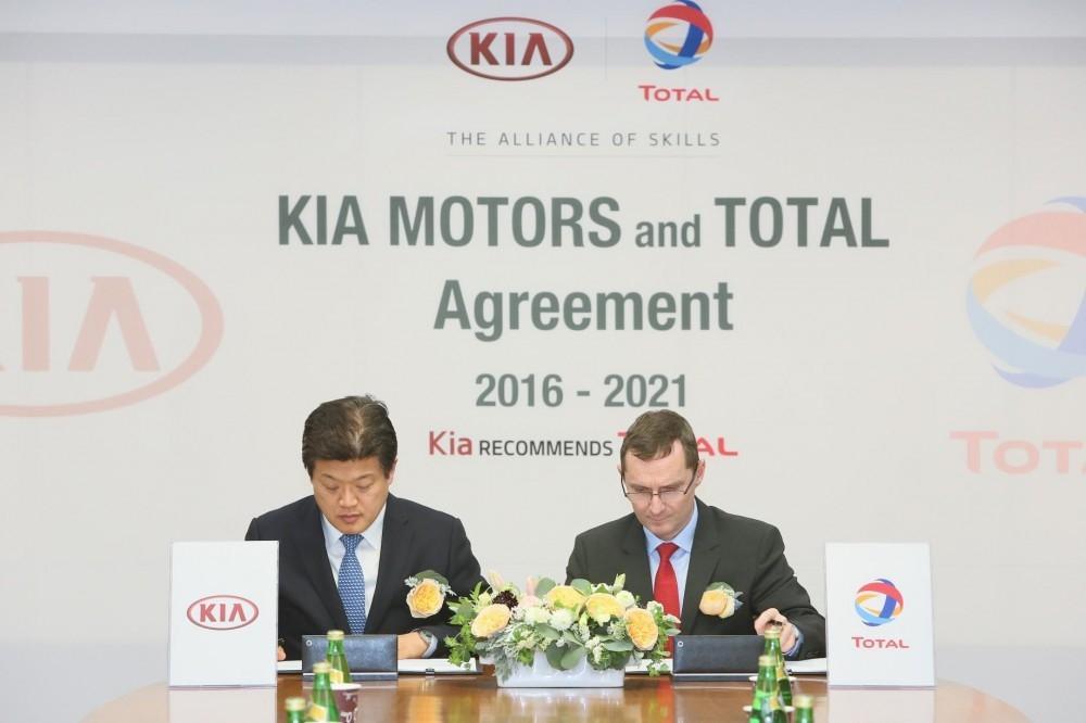 Kia and Total Renew Partnership