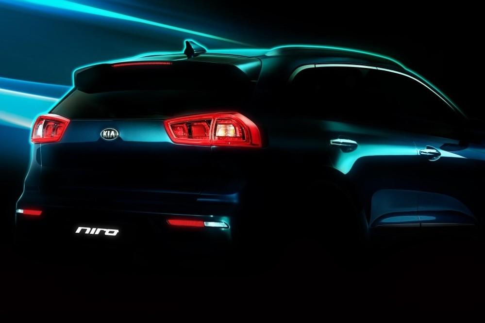 Kia's All-New Hybrid Utility Vehicle
