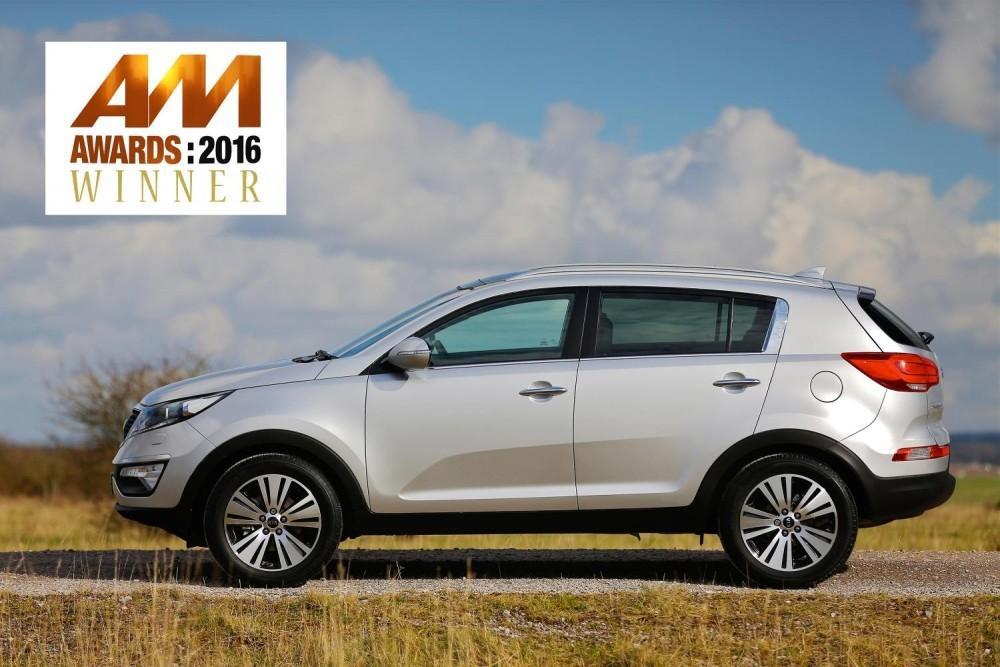 Kia Sportage wins Used Car Award