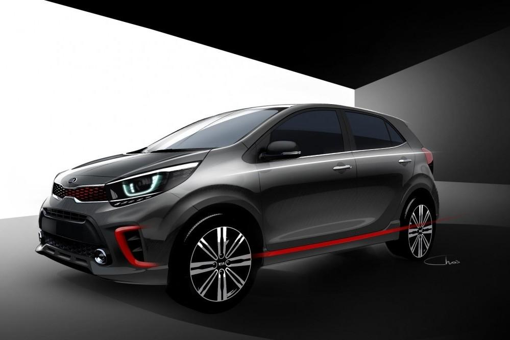 First design details of all-new Picanto revealed