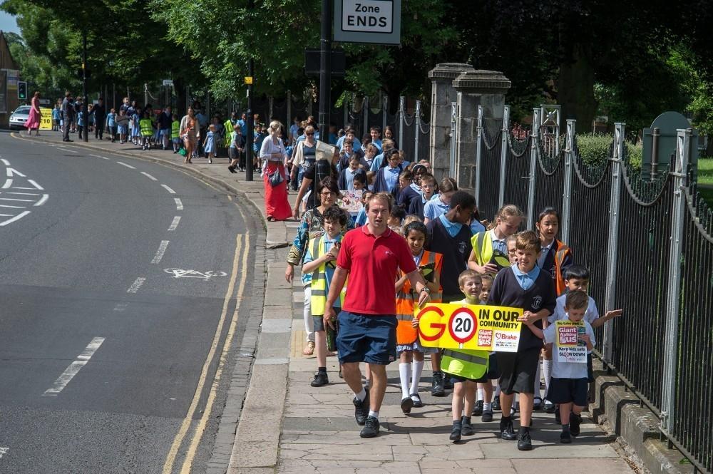 Road Safety Body Backs Walk to School Week