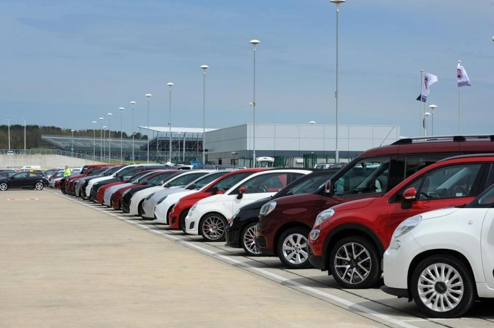 Largest Collection of Fiat Group Vehicles at Silverstone