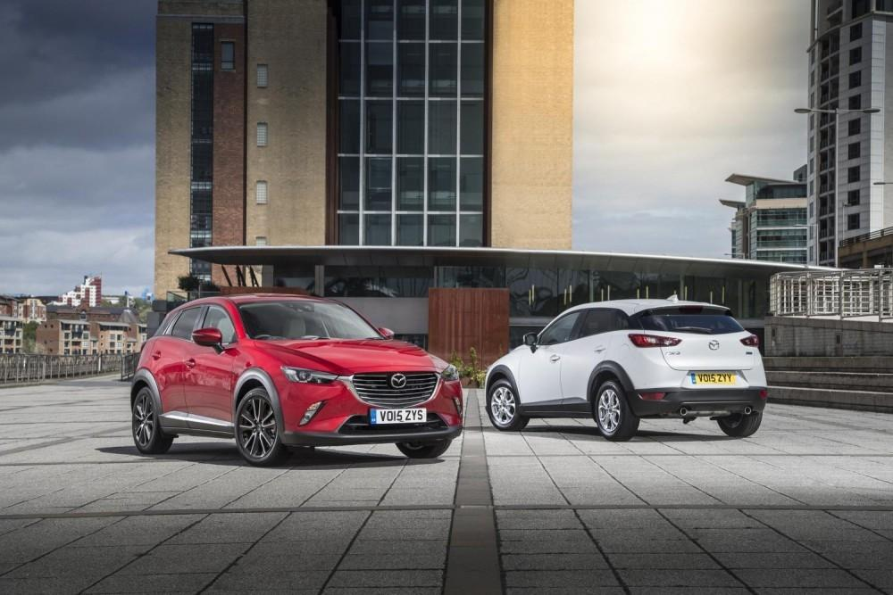 Mazda CX-3 Wins Best Compact SUV Title