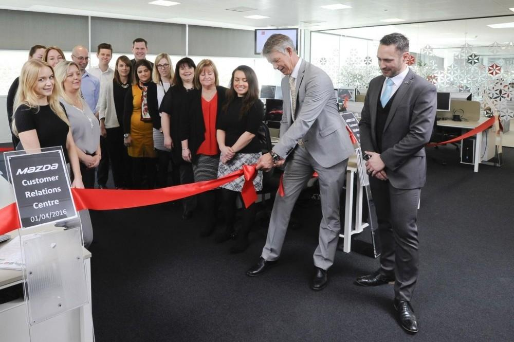 Mazda Opens new Customer Relations Center