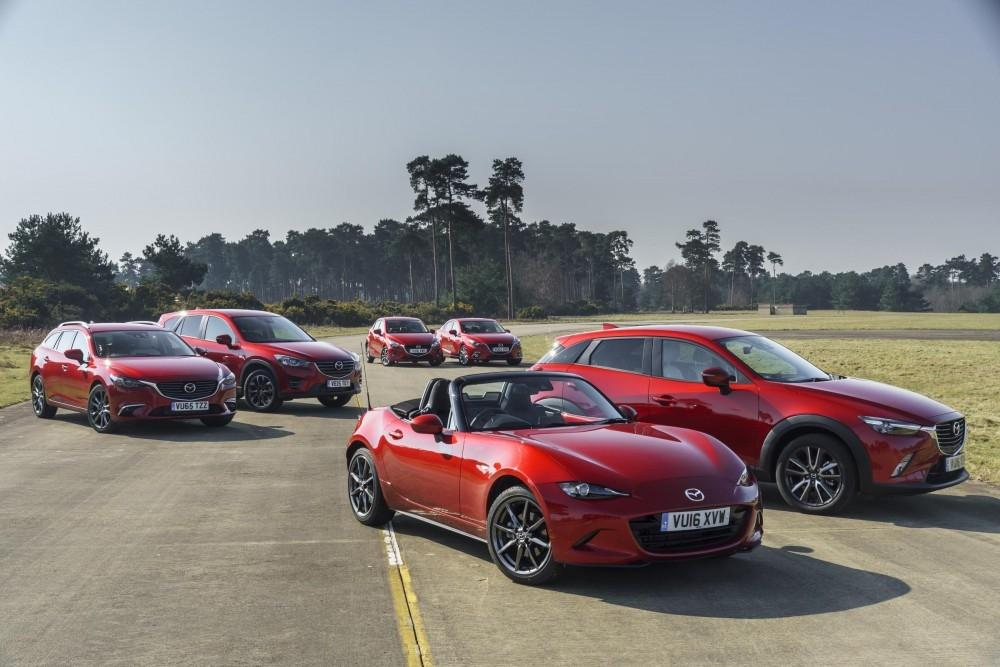 Mazda UK Sales Growth Confidence