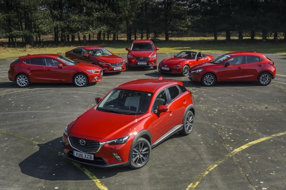 Mazda Range Set to Drive Further Fleet Growth