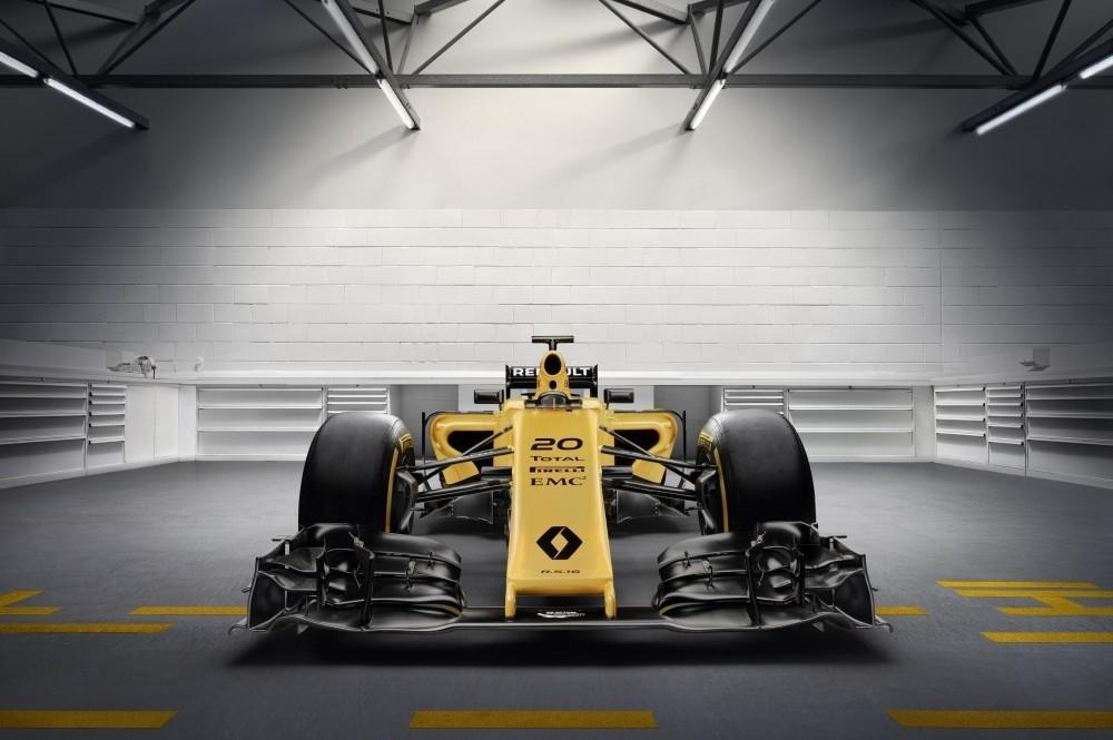 New Renault Sport Formula One Livery Unveiled