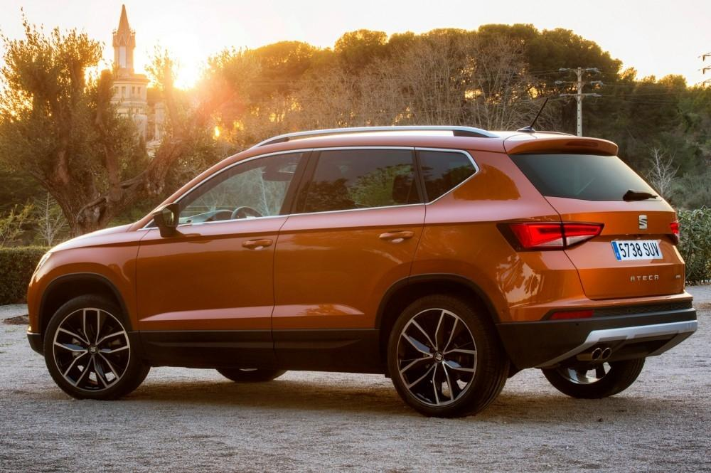 SEAT Ateca SUV Showcased at Silverstone