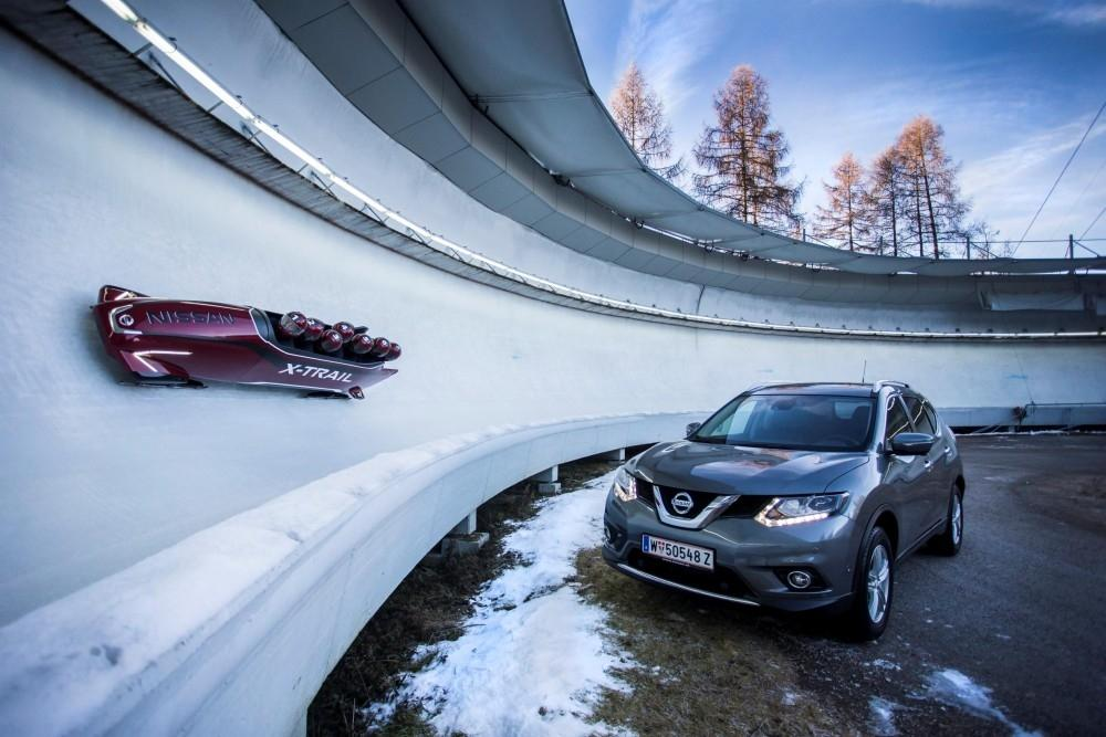 A World First: The Nissan X-Trail Bobsleigh
