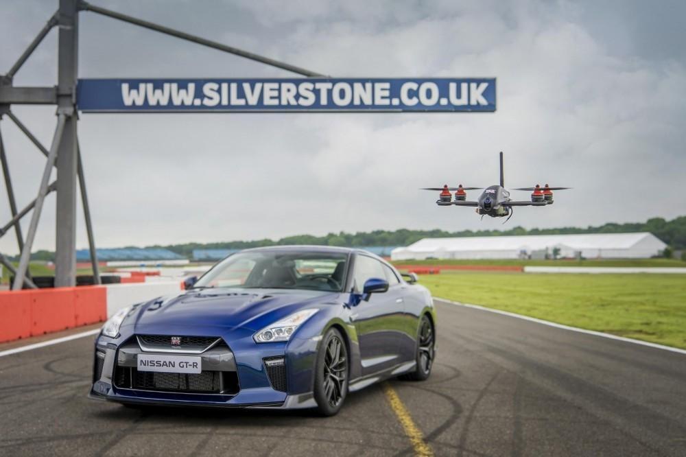 Nissan Unveils GT-R Drone