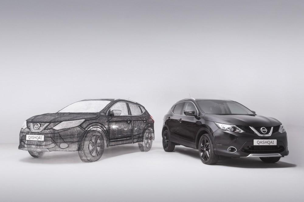 Full Sized Replica Of Qashqai Black Edition Created