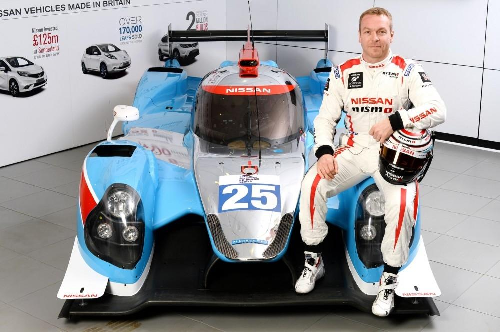 Nissan to Power Sir Chris Hoy at Le Mans 24 Hour