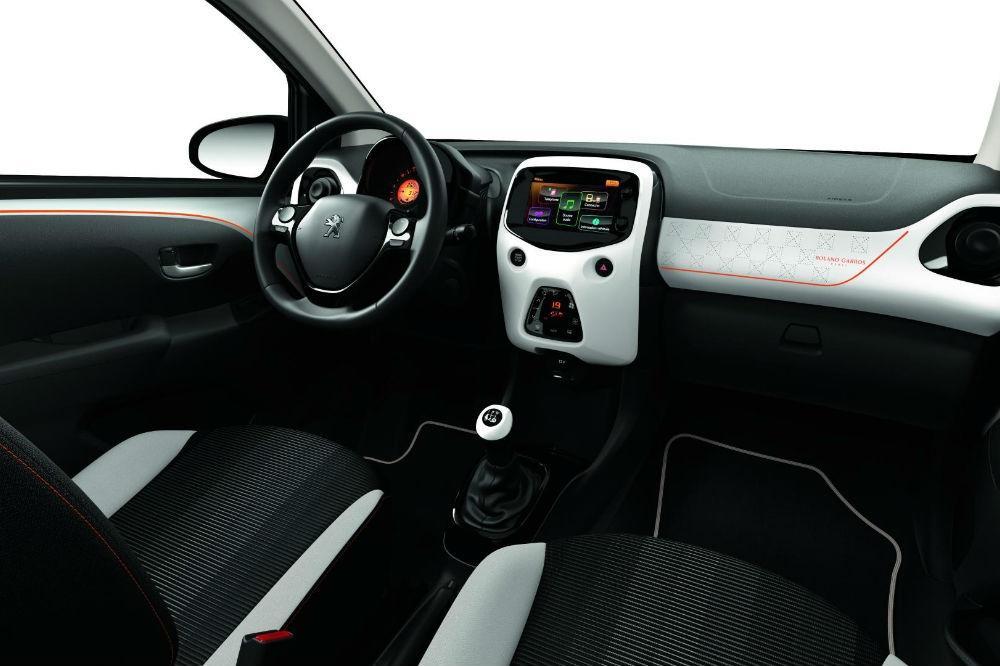 Peugeot 108 Roland Garros Special Edition unveiled