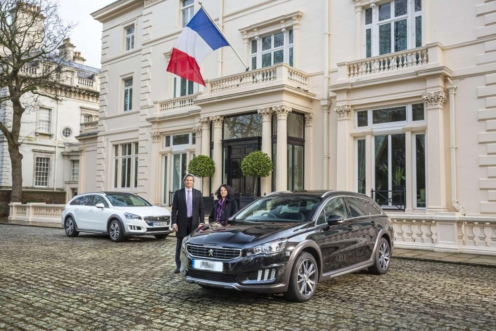 Peugeot 508 RXH is New French Embassy Car