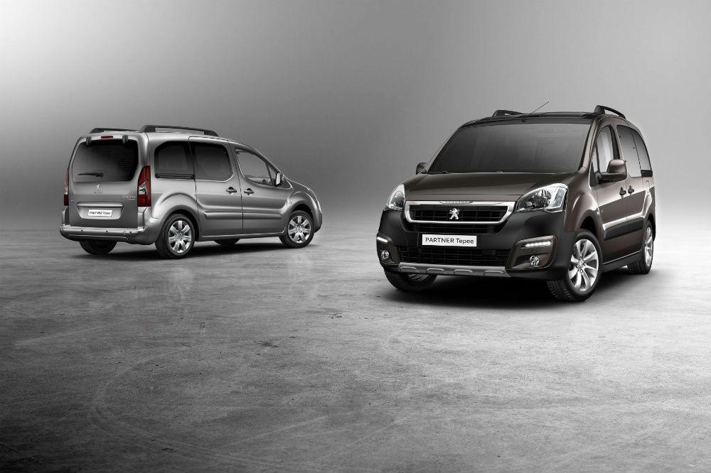 Peugeot Partner Tepee gets a facelift