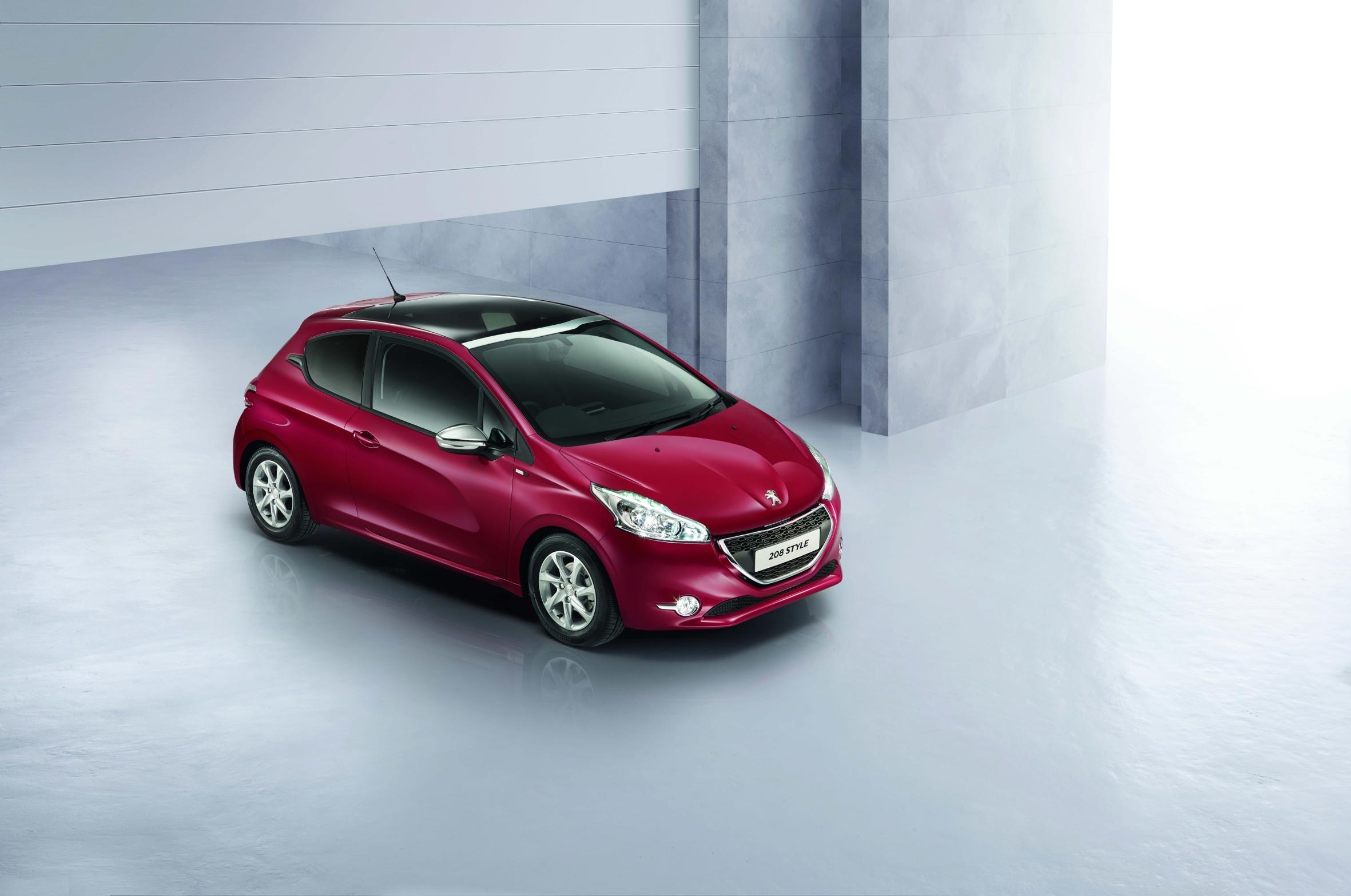 Peugeot 208 Style special edition launched