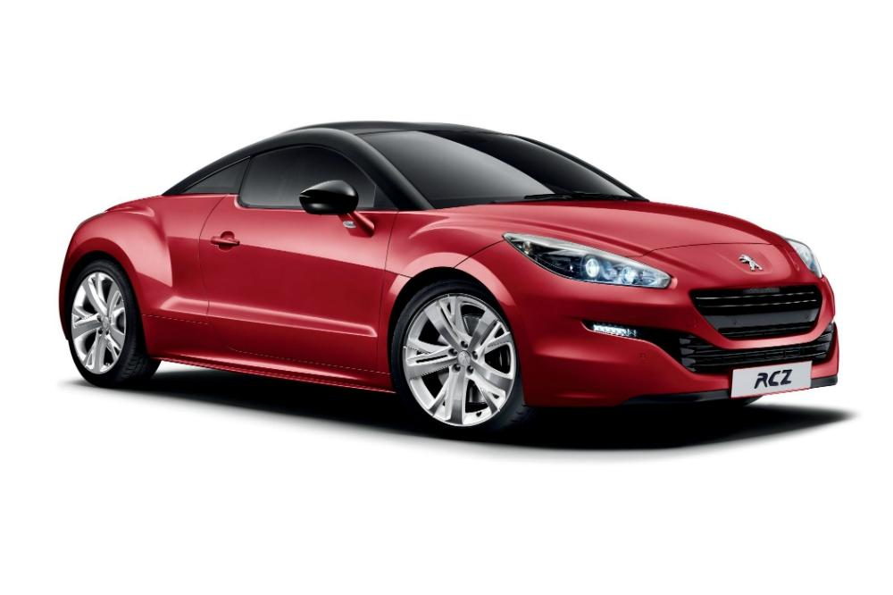 Peugeot launch RCZ 'Red Carbon' limited edition