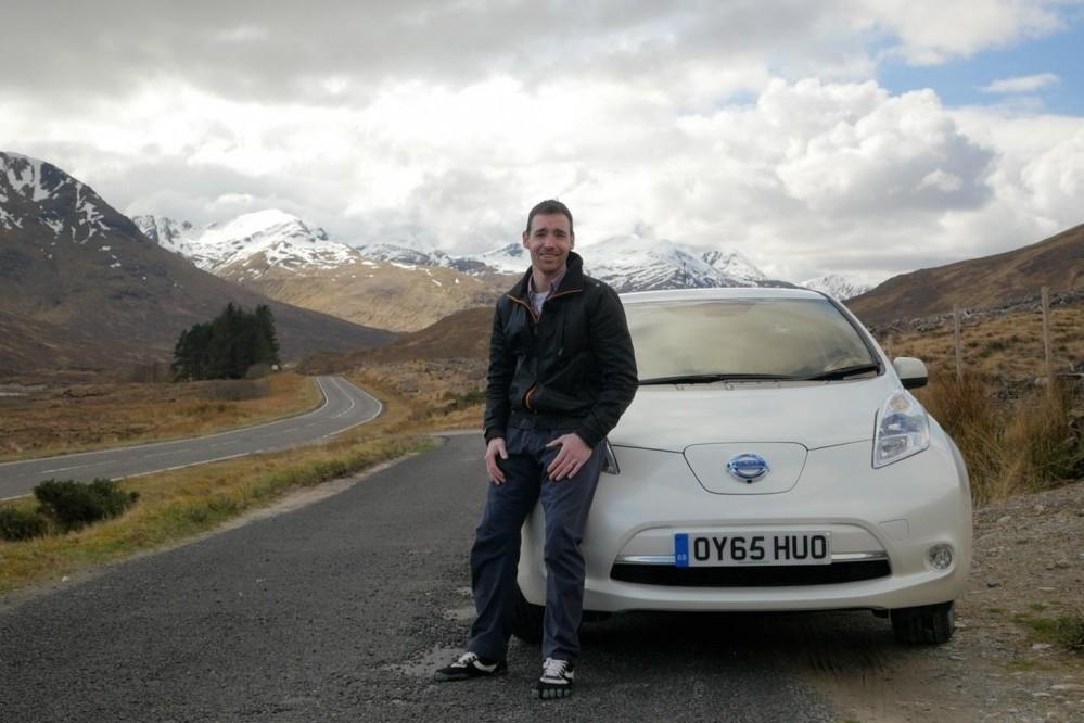 Plug-in Highland Adventures in a Nissan LEAF