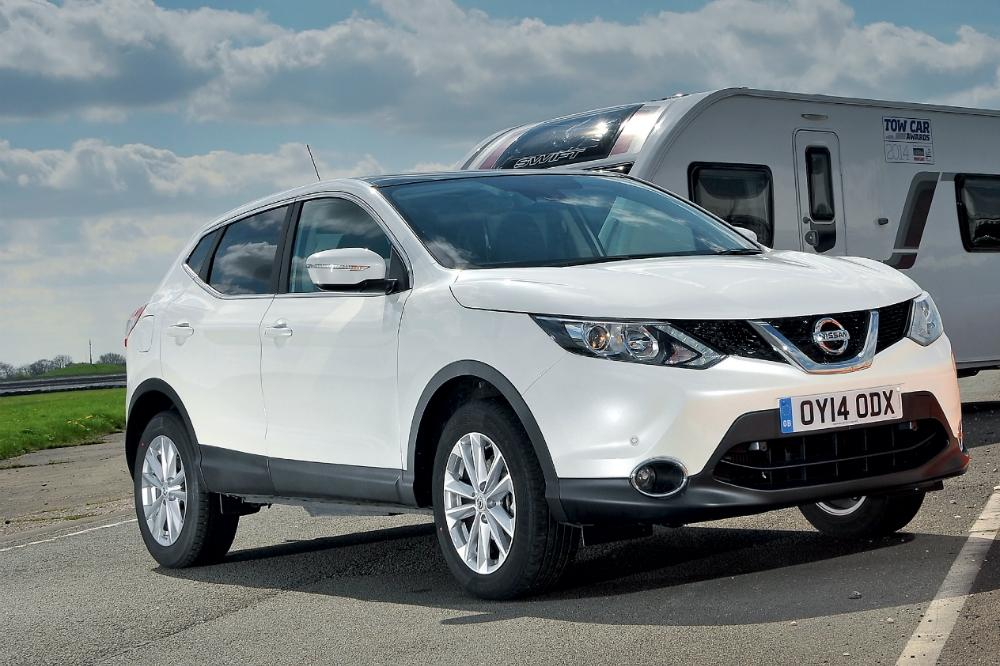 Nissan Qashqai named best tow car of 2014