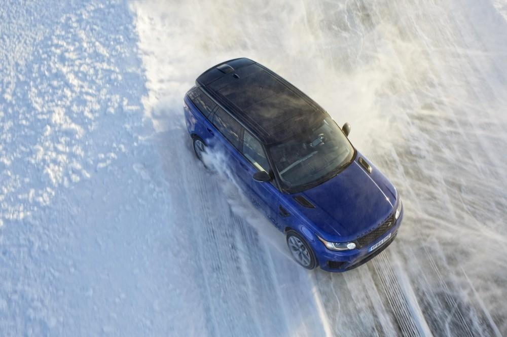 Range Rover Sport SVR Takes on the Arctic